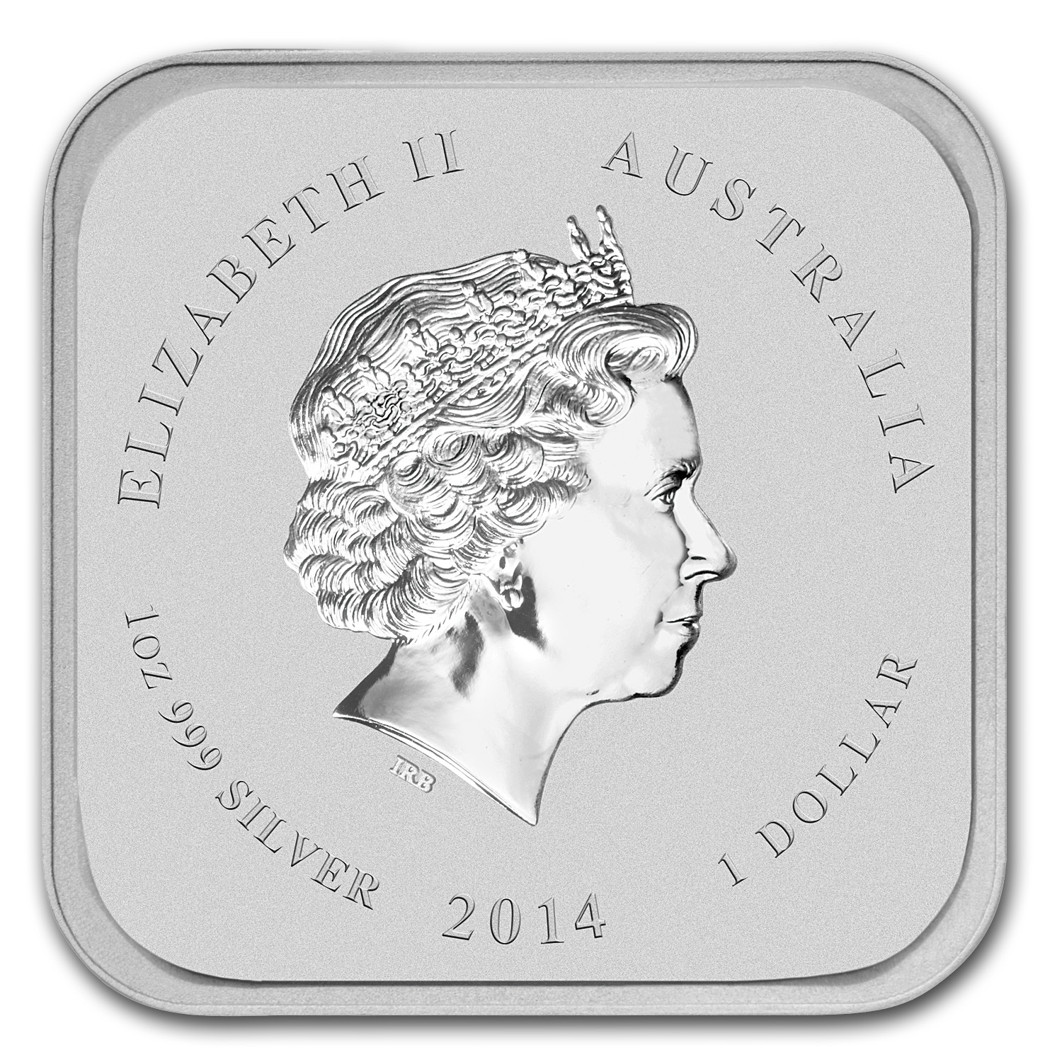 2014 Australia 10-Coin 1 oz Silver Horse Set (Squares/Colorized)
